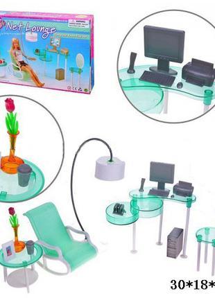 """Мебель """"Gloria"""" 2818 (36шт/3) стул, стол, компьютер, аксессуары,в"""
