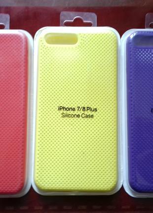 Чехол На Айфон Silicone Case Для IPhone 7+/8+ Разных Цветов