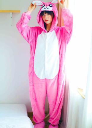Заяц розовый кигуруми