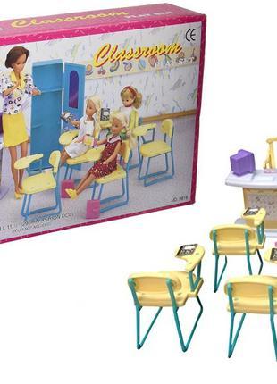 """Мебель """"Gloria"""" 9816(36шт/3)для школы, стол учителя, парты, стуль"""