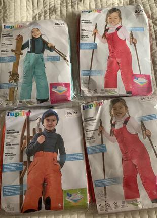 Лыжные комплекты для девочек полукомбинезон сrivit 86/92