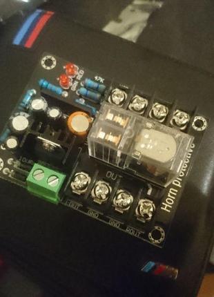 Защита акустической системы АС от постоянного напряжения + soft