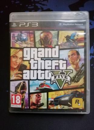PS3 GTA V (Grand Theft Auto V)