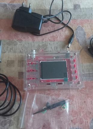 Цифровой портативный осциллограф DSO138 + корпус + щуп 1:10 + БП
