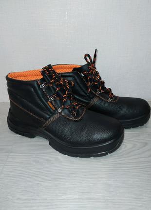 Новые ботинки кожаные, рабочая обувь зимняя