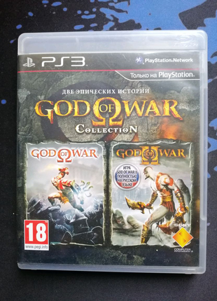 PS3 God of War Collection (рус.)