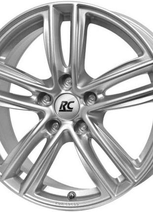 RC Design RC27 R19 W7 PCD5x112 ET34 DIA66.6 Silver