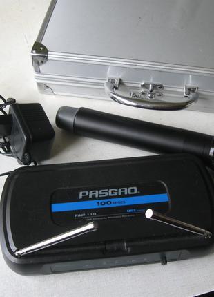 Микрофон беспроводной с радиосистемой Pasgao Paw110
