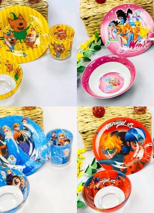 Детская посуда Набор