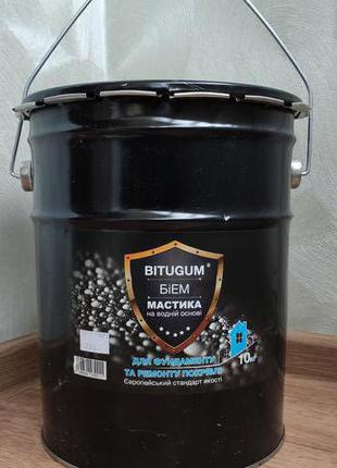 Мастика бітумно-емульсійна БІЕМ Bitugum® (IZOFAST) - 5 кг