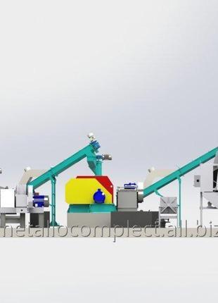 Линия отжима подсолнечника и рапса производительностью до 24 тонн