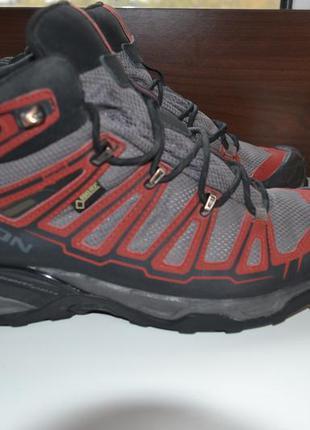 Salomon x ultra mid gtx 42.5р ботинки трекинговые, походные. g...