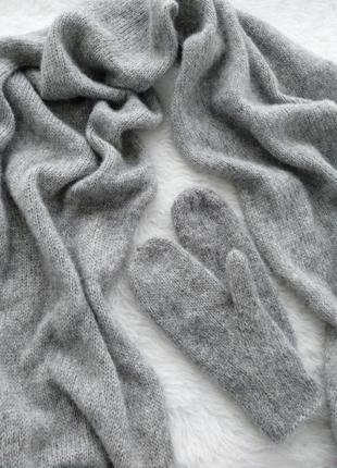 Элитный состав. шарф и варежки