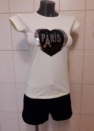 Красивая,эффектная,качественная,стрейчевая лимонная футболка h...