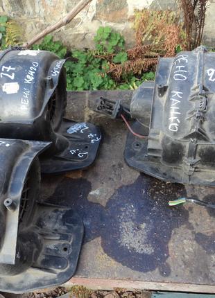 Двигатель печки на Renault Kengoo, Рено Кенго