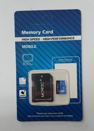 Карта памяти на 8 Gb Moric Micro SD новая.