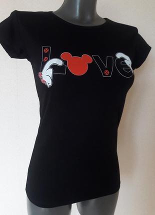 Качественная стрейчевая черная футболка my serenad,турция,one ...