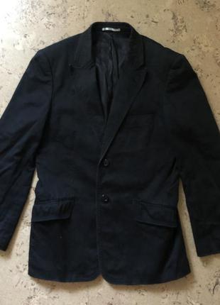 Молодёжный стильный брендовый мужской пиджак selected м-л.