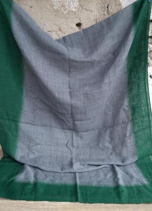 Шарф палантин 72*190 шерсть шелк индия