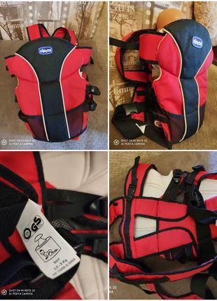 Кенгуру рюкзак для переноски детей Chicco
