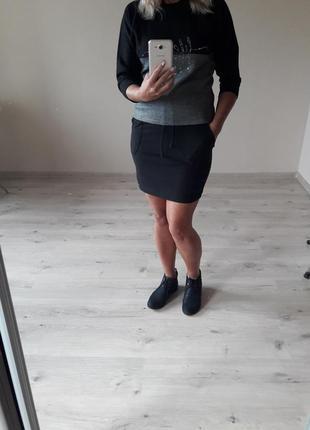 Спорт шик!модная крутая,молодежная,трендовая,качественная юбка...
