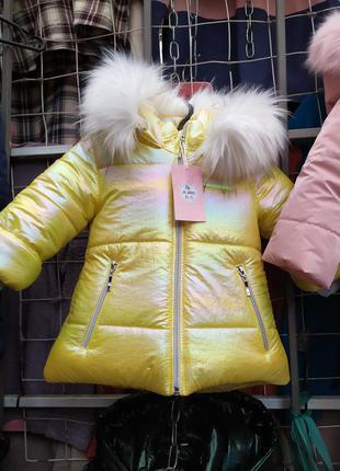 Зимние куртки для девочки утеплитель синтепон