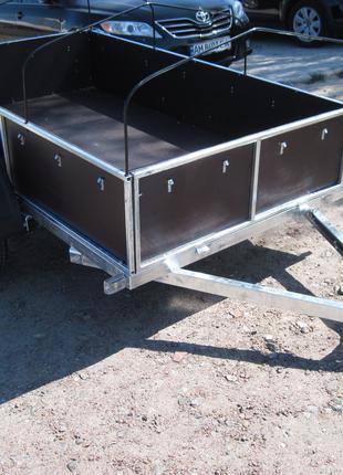 Прицеп оцинкованый для легкового автомобиля ПГМФ-83022