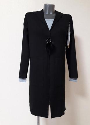Крутой,стильный,теплый,25%кашемира,5%шерсти,кардиган-пальто-ов...