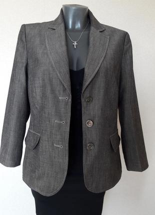 Деловой,стильный,офисный,качественный свободный пиджак liberti...