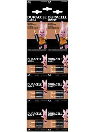 Батарейка Duracell AA MN1500 LR06 (плакат 2*6) * 12 065084