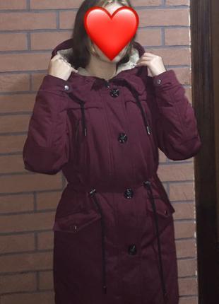 Куртка, парка женская на зиму