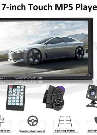 Автомобильный мультимедийный плеер, 7 дюйма сенсорный экран