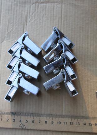Петли 8 шт. мебельные Smart Петля для стекла угловая