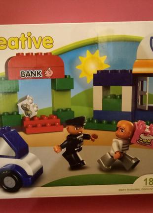 Конструктор (аналог Lego Duplo) 48 деталей