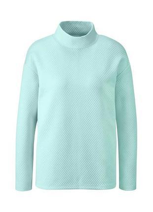 Мятная толстовка пуловер свитшот серии актив Tchibo TCM ТСМ