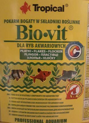 Корм для рыб Tropical Bio-vit