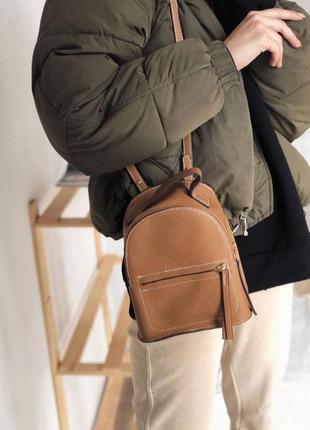 Маленький вместительный рюкзак-сумка. рюкзак-сумка транформер.
