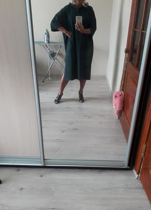Модное,крутое,качественное просторное прогулочное платье-балах...