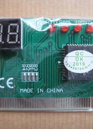Тестовая карта PCI пост карта (POST CARD) для компьютера