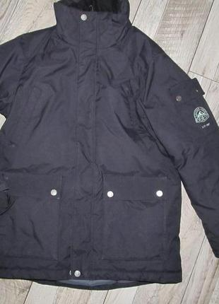 Куртка-пуховик everest рост 152 см 11-12 лет
