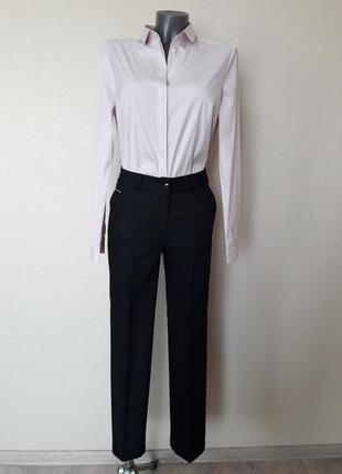 Стильные,деловые,качественные,строгие,легкие укороченные брюки...