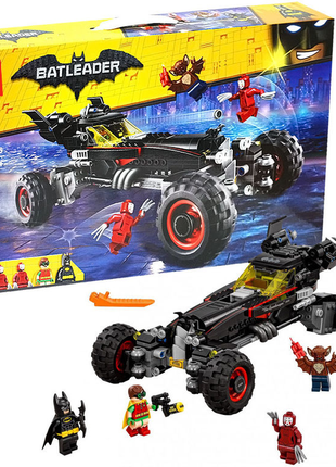 Конструктор пластиковый 10634 Бэтмен Бэтмобиль, 610 деталей