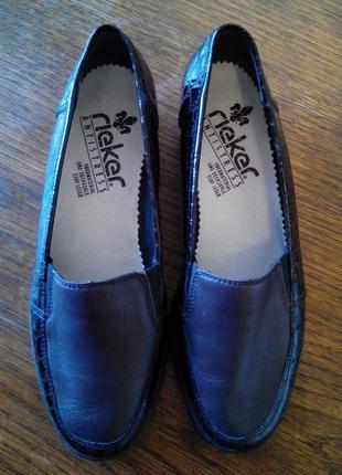Оригинальные качественные,комфортные кожаные туфли rieker,anti...