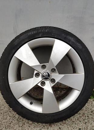 Колеса в сборе Skoda Octavia A7 225/45 R17