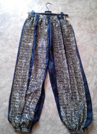 Очень красивые штаны для восточных танцев,р-ра m/l