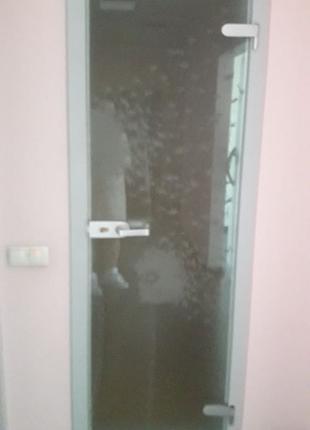 стекляная дверь матовая kenzo одуванчик кензо