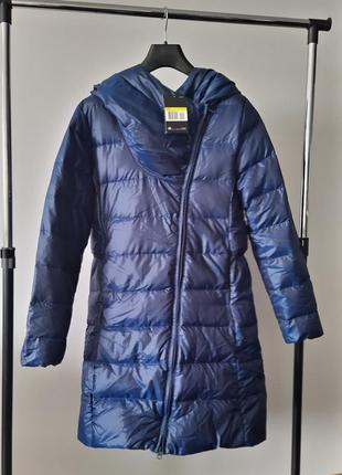 Новый удлинённый пуховик nike оригинал парка куртка на пуху найк