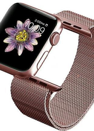 Ремешок BeWatch для Apple Watch миланская петля