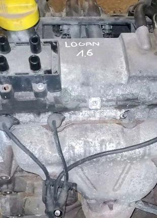 Разборка Renault Logan (LS) 2006, двигатель 1.6 K7M