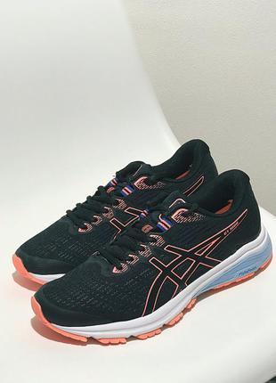 Черные кроссовки asics gt-1000 40p